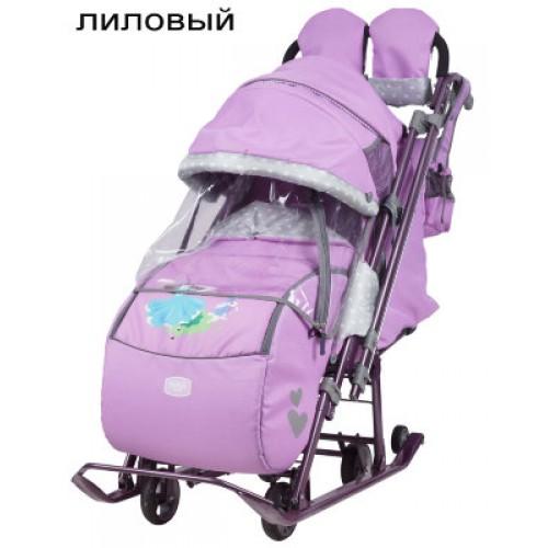 Санки-коляска Ника Детям 7-4 2017