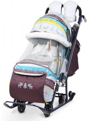 Санки-коляска Ника-7-3