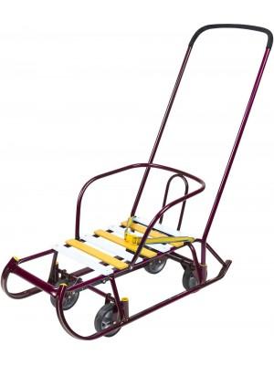 Санки с выдвижными колесами Nikа Тимка 6
