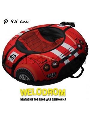 """Тюбинг Митек """"Спортивная машинка"""" 95"""""""
