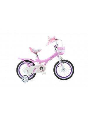 """Детский двухколесный велосипед Royal Baby Bunny Girl Steel 14"""""""
