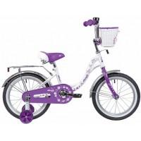 """Двухколесный велосипед Novatrack Butterfly 16"""""""