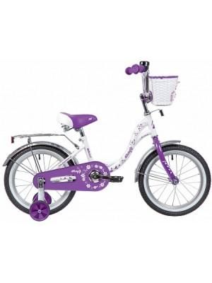 """Двухколесный велосипед Novatrack Butterfly 14"""""""