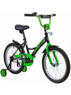 """Двухколесный велосипед Novatrack Strike 18"""""""
