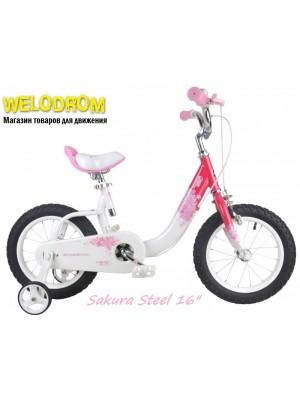 """Велосипед Royal Baby Sacura Steel 16"""""""