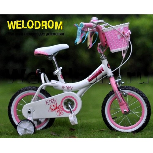 "Велосипед Royal Baby Princess Jenny Girl Steel 14"""